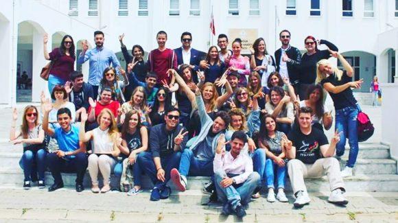 Organizasyon ekibinde 26 ülkeyi buluşturduk.