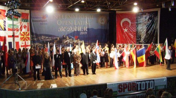 Uluslararası Latin Dans Şampiyonasını Bodrum'da gerçekleştirdik